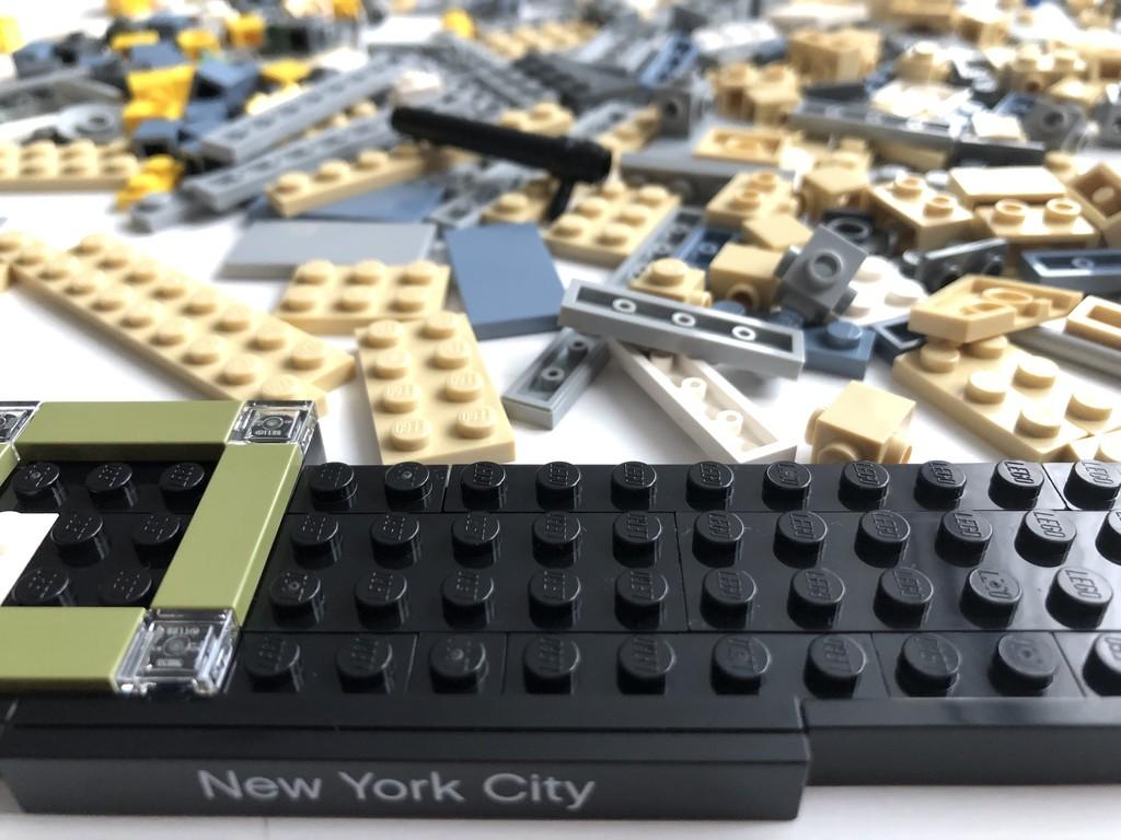 Enjoying building Lego  by bizziebeeme