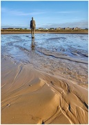 2nd Jan 2019 - A stroll on Formby beach to see Anthony Gormley's 'Another Place.