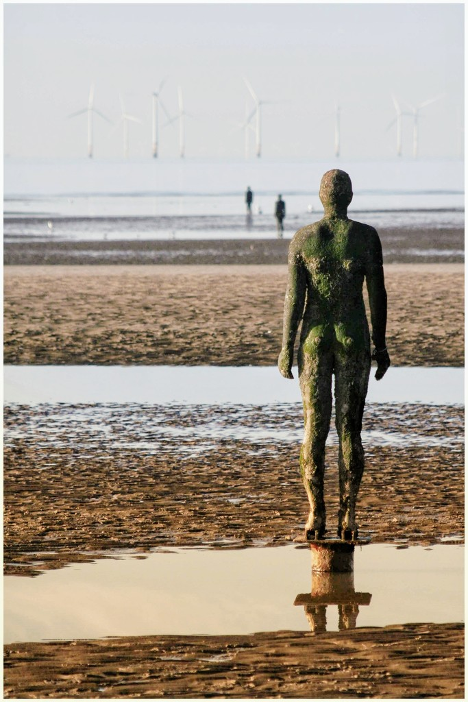 Antony Gormley's 'Another Place' by lyndamcg