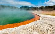 2nd Jan 2019 - Rotorua geothermal lake