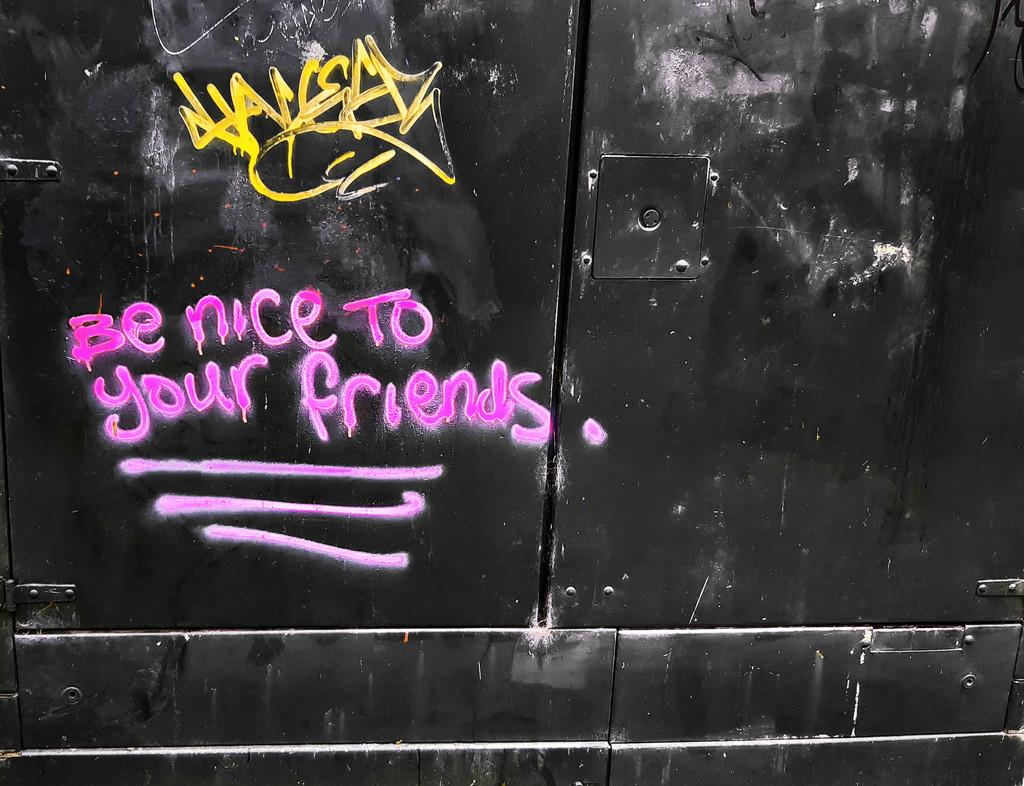 The motivational graffiti artist strikes again... by m2016