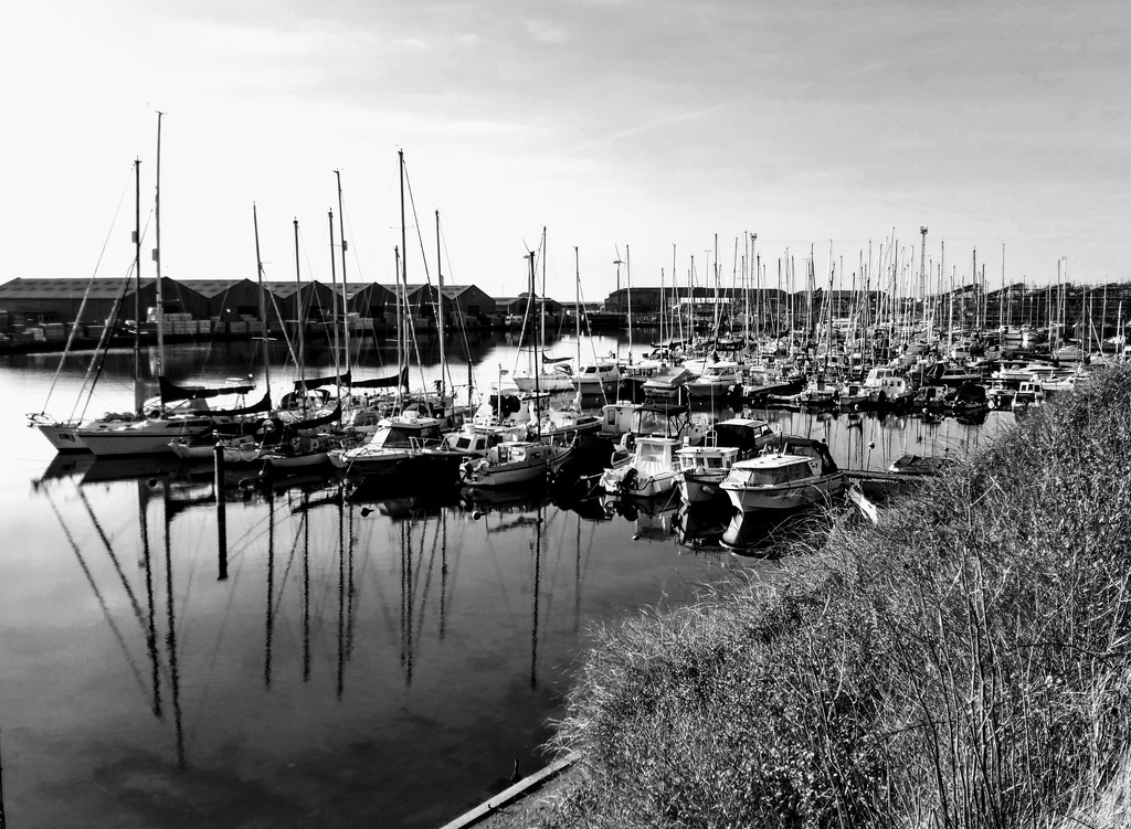 Harbour boats by 4rky