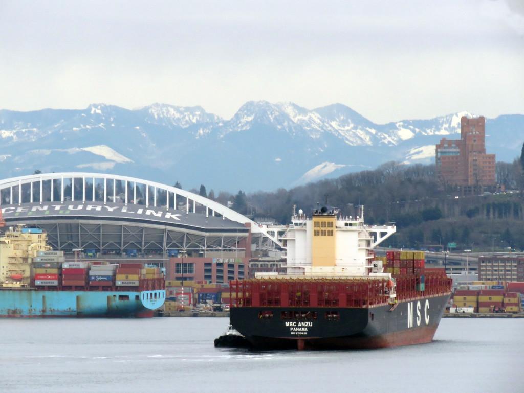 Port of Seattle by seattlite