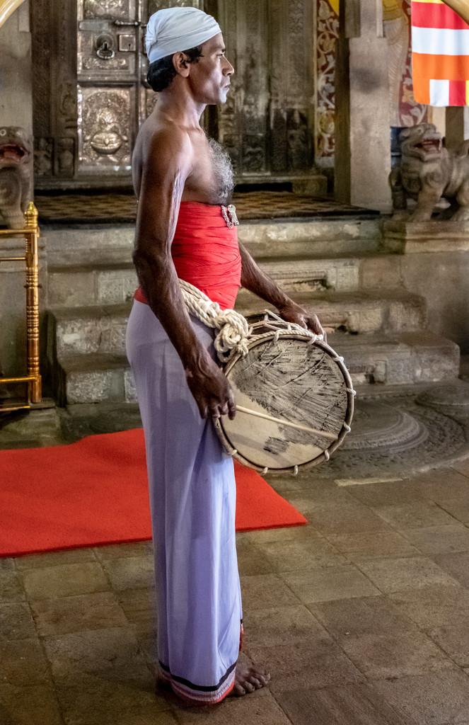 The Drummer  by golftragic