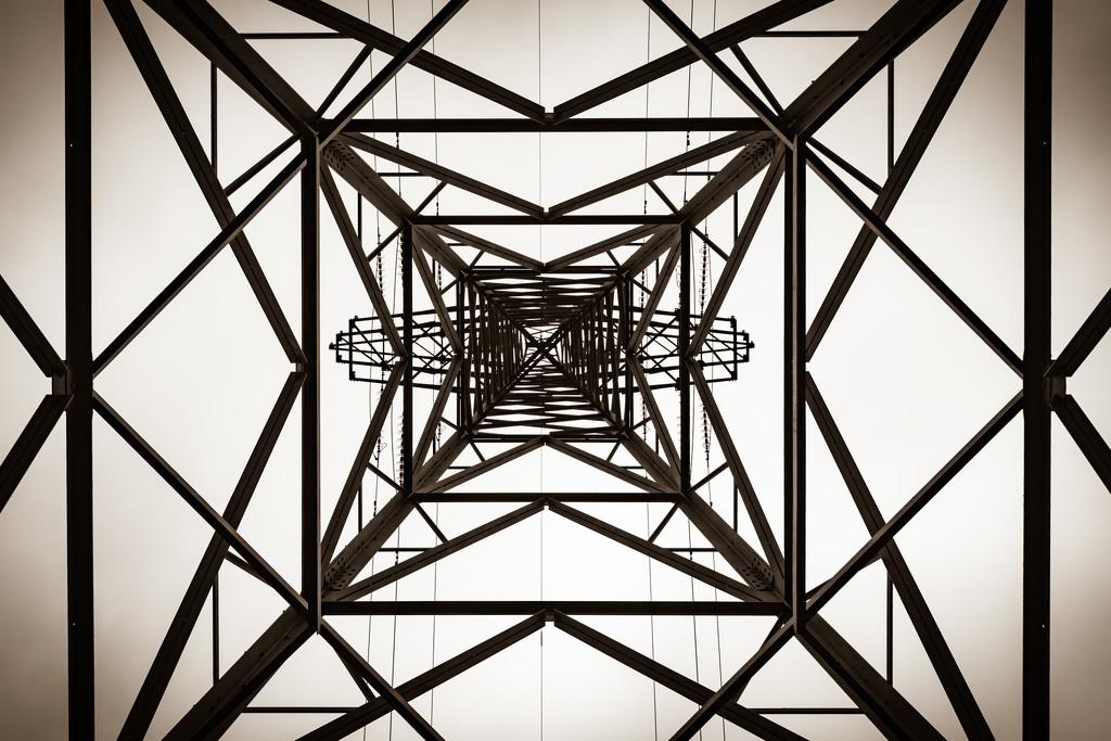 Sepia Pylon by humphreyhippo