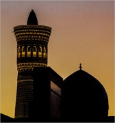 6th Jan 2019 - 006 - Kalyan Minaret and dome of the Miri-Arab Madrasha