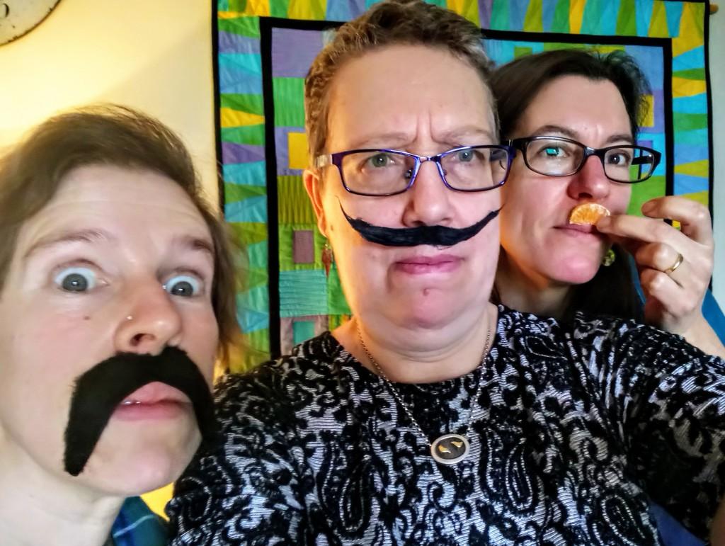 Moustache selfie by boxplayer
