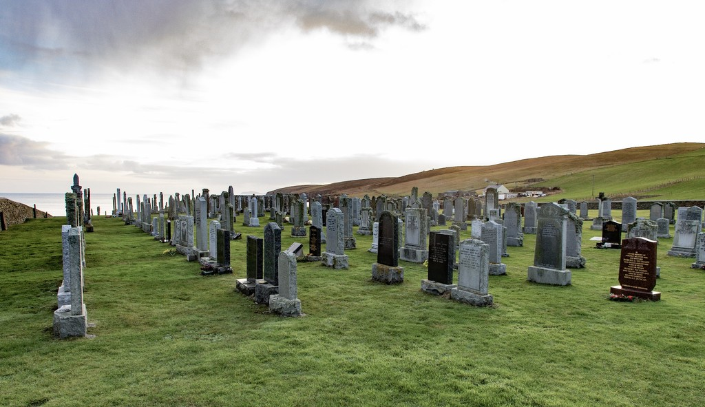 Sandwick Graveyard by lifeat60degrees