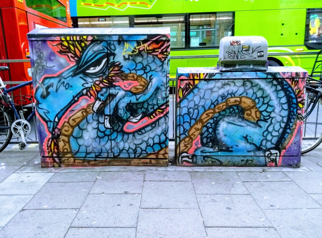 Neon Dragon by Sinna One by 4rky