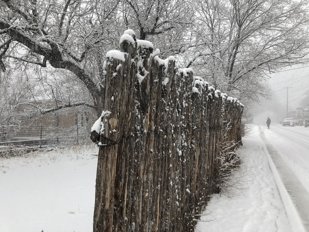 Winter in Santa Fe  by redy4et