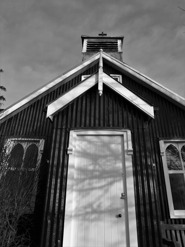 The Tin Church by ajisaac