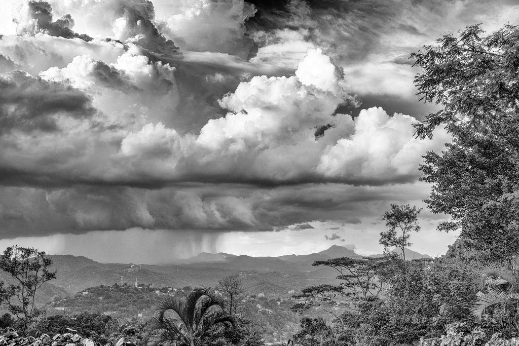 Rain over Kandy by golftragic