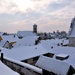 Szentendre rooftops in the winter by kork