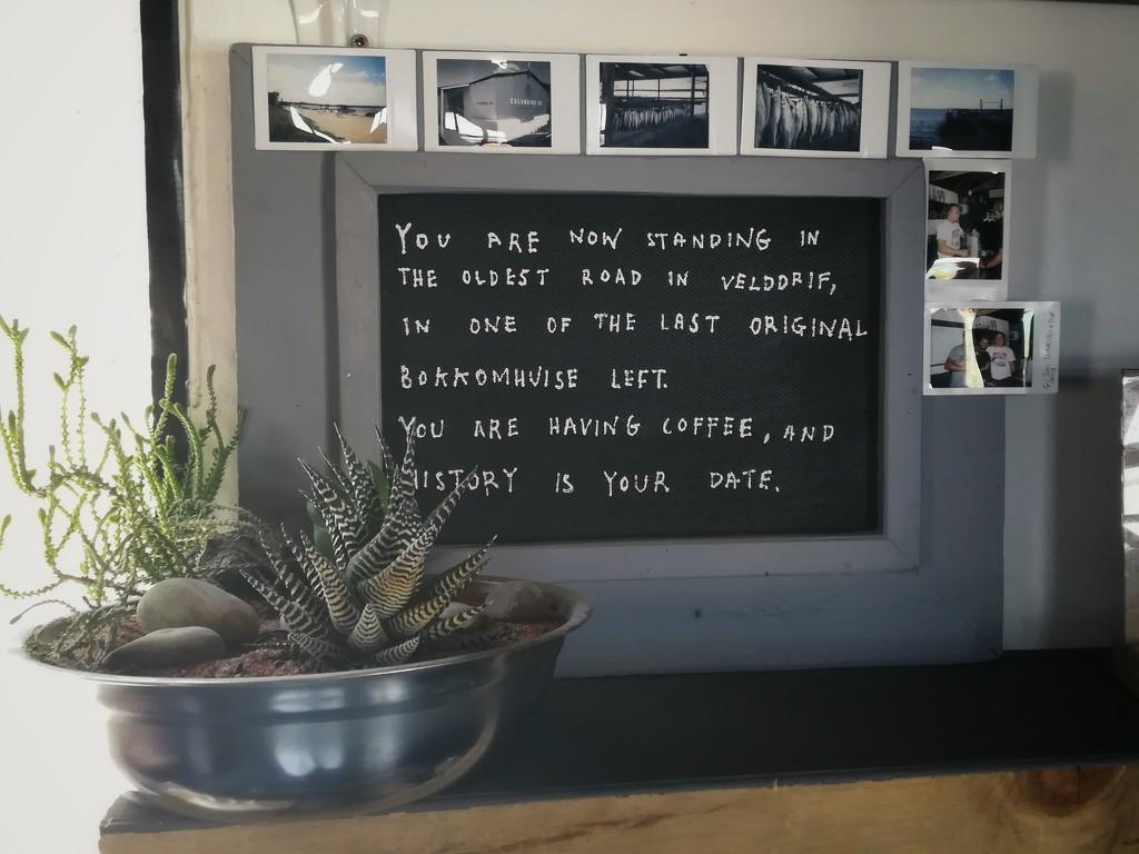 Coffee shop sign by salza