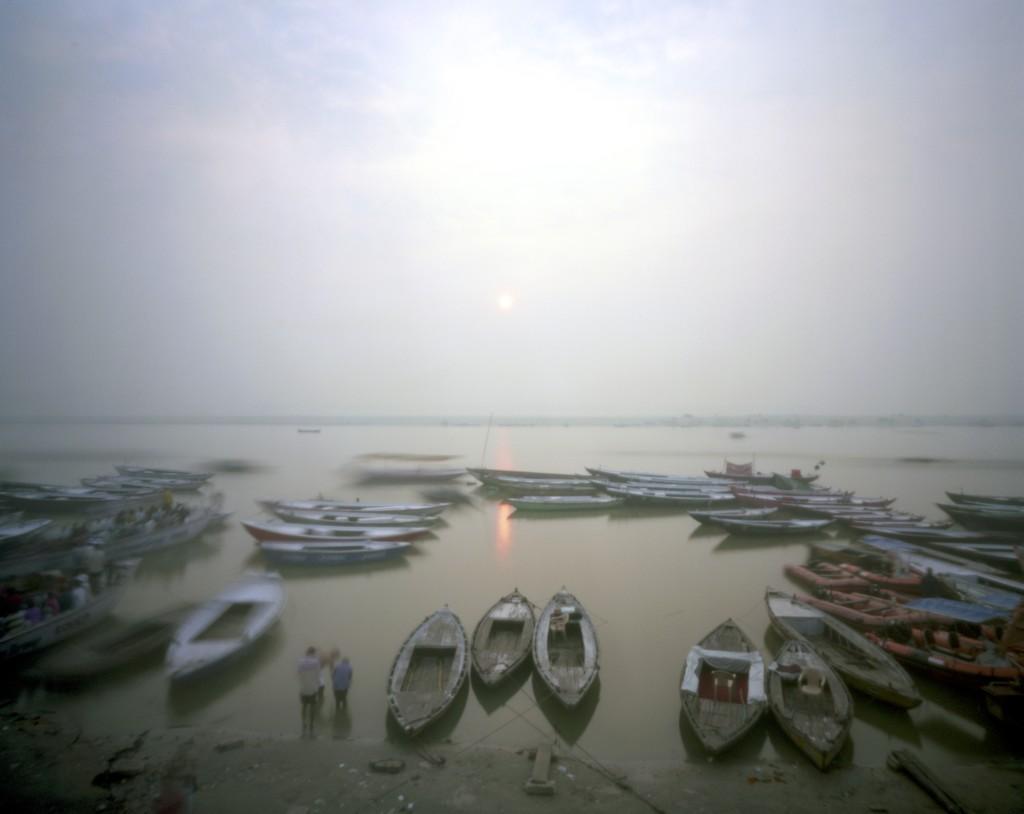 Dawn puja by peterdegraaff