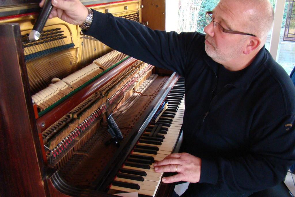 piano tuner by gijsje