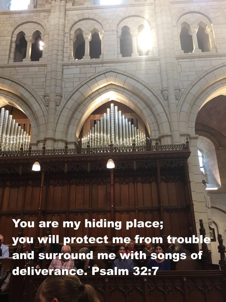 Psalm 32 verse 7 by daffodill