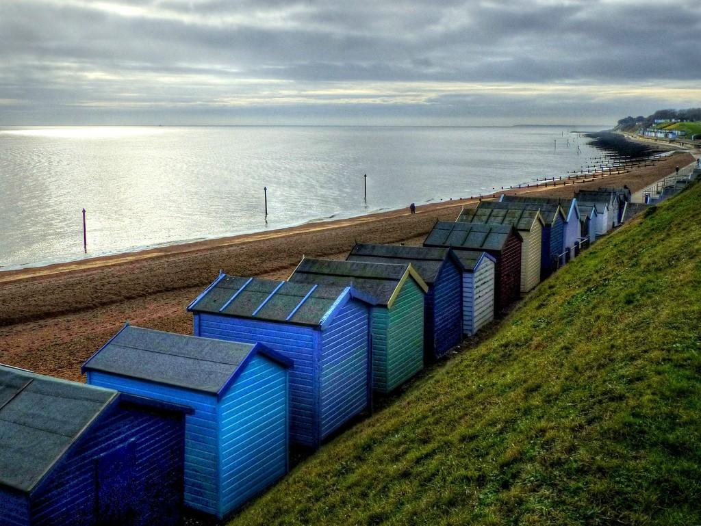 Beach Huts by judithdeacon