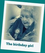 10th Jan 2019 - The Birthday Girl is 100 !!!!!!!!!!!