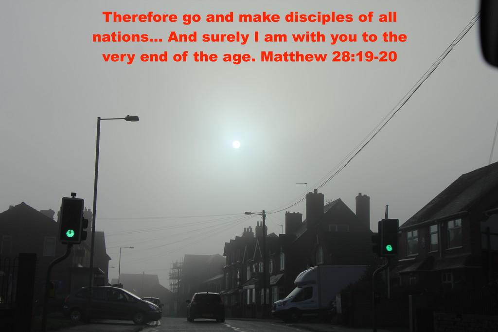 Matthew 28 v 19-20 by daffodill