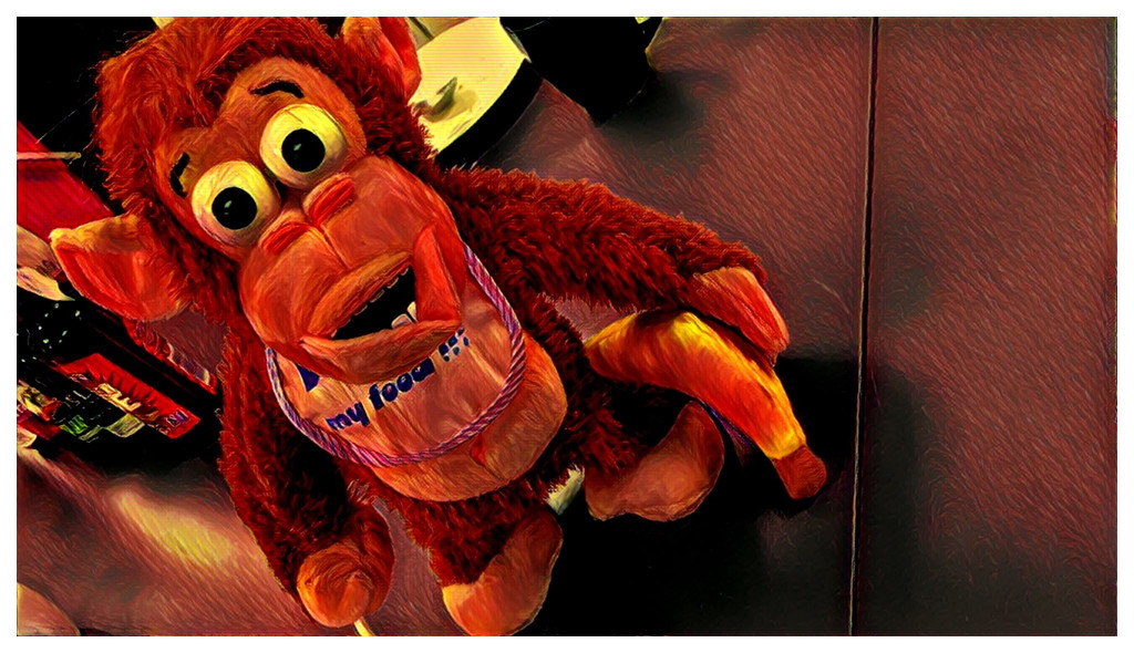 Monkey Means Business... by bankmann