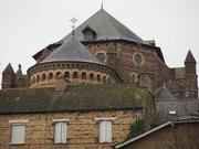 13th Jan 2019 - Église de St Maxent, Maxent...and pigeons