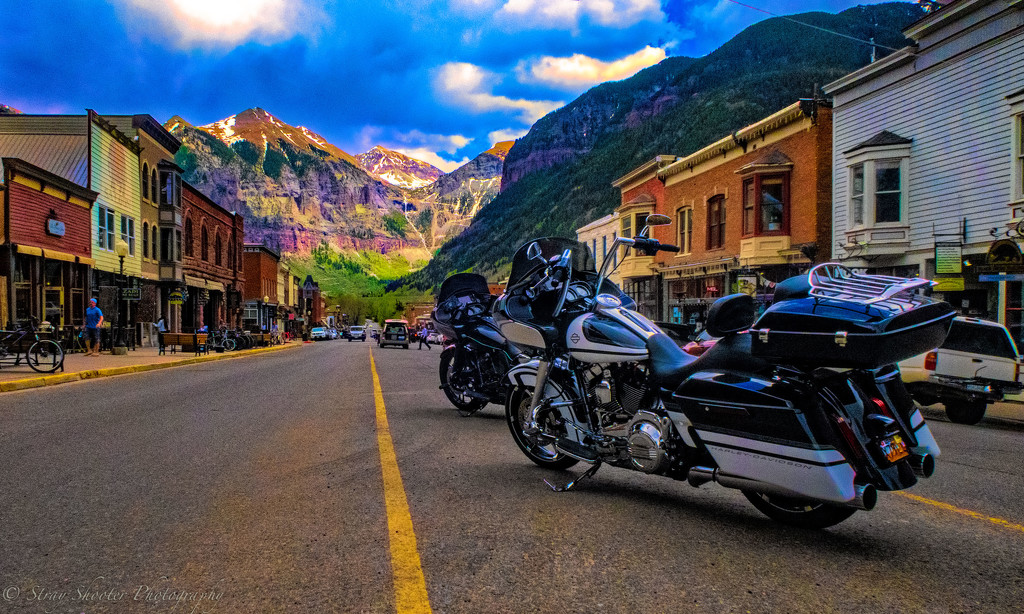 Motorcycle Visit to Telluride by stray_shooter
