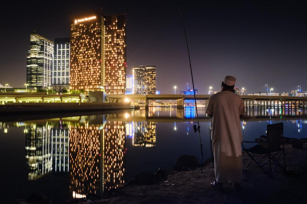 Downtown fishing by stefanotrezzi