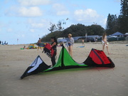 14th Jan 2019 - Sand Surfing Kite.   Cotton Tree beach