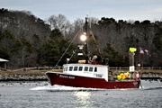 15th Jan 2019 - Fishing boat in Cape Cod Canal
