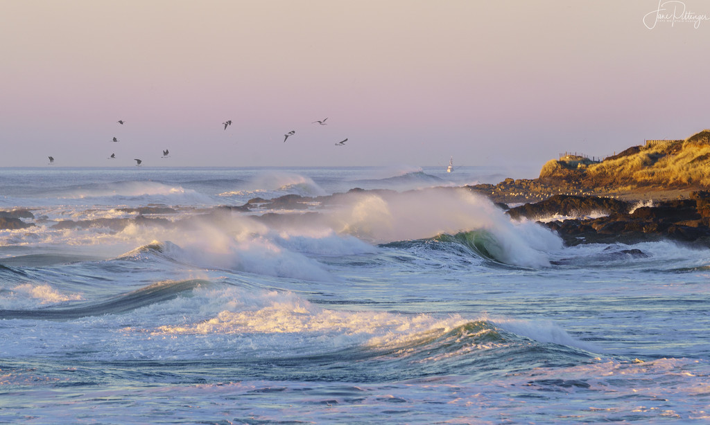 Roiling Seas by jgpittenger