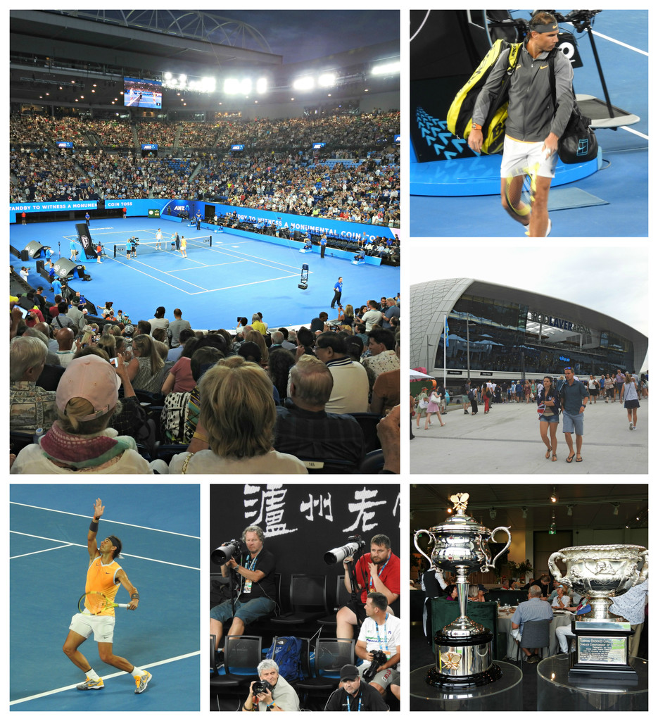 Center Court at the Australian Open! by ddw