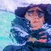 Through the water Selfie