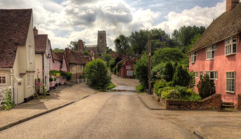 A quintessential Suffolk Village by judithdeacon