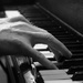 Piano Hands B&W