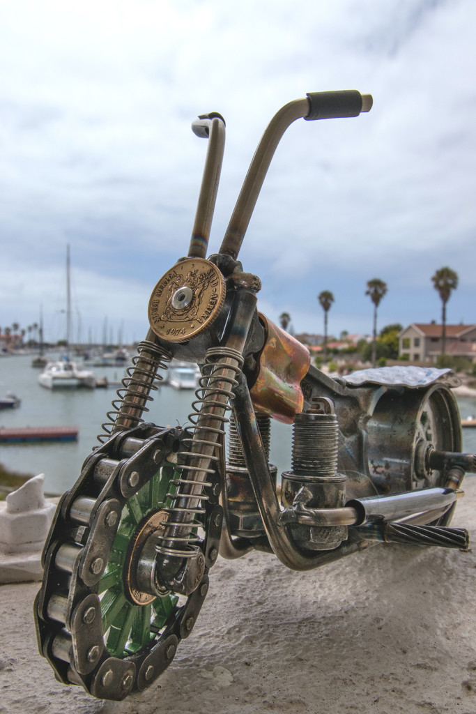 The Bike again by seacreature