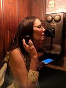 15th Jun 2018 - Nadine on the phone