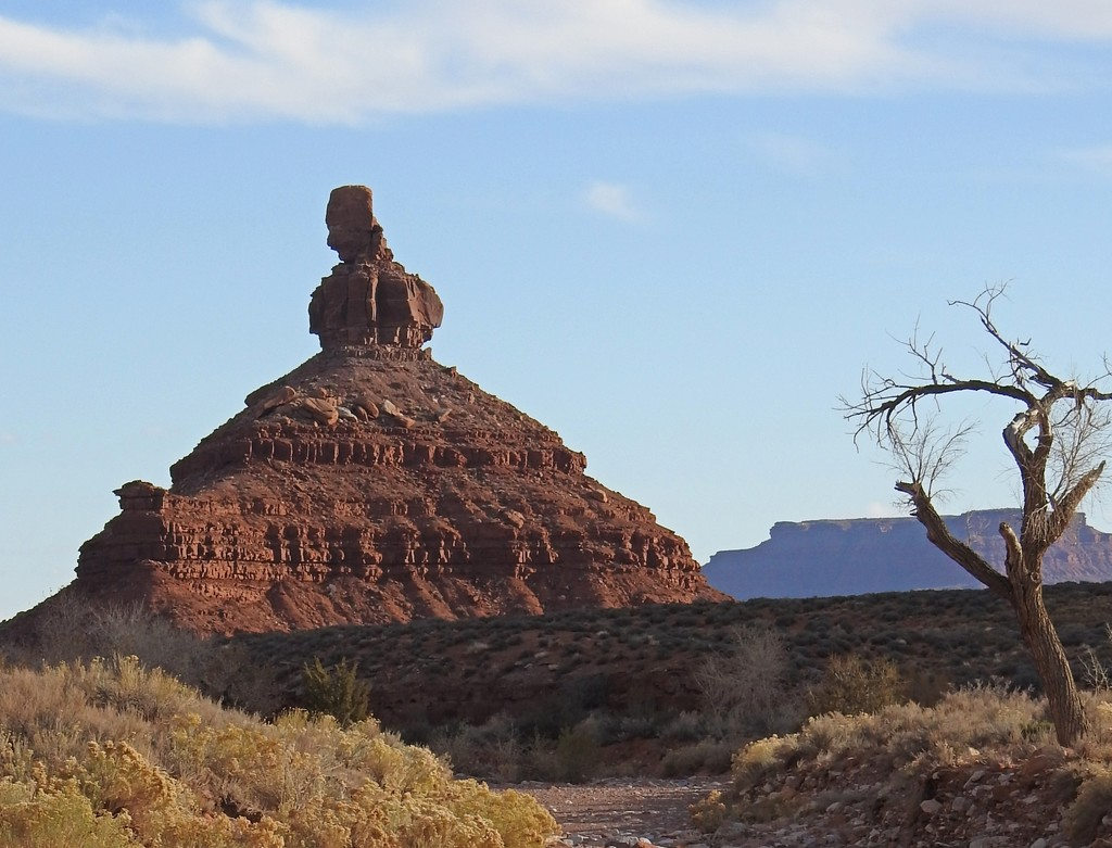 Setting Hen Butte, Valley of the Gods, Utah by janeandcharlie