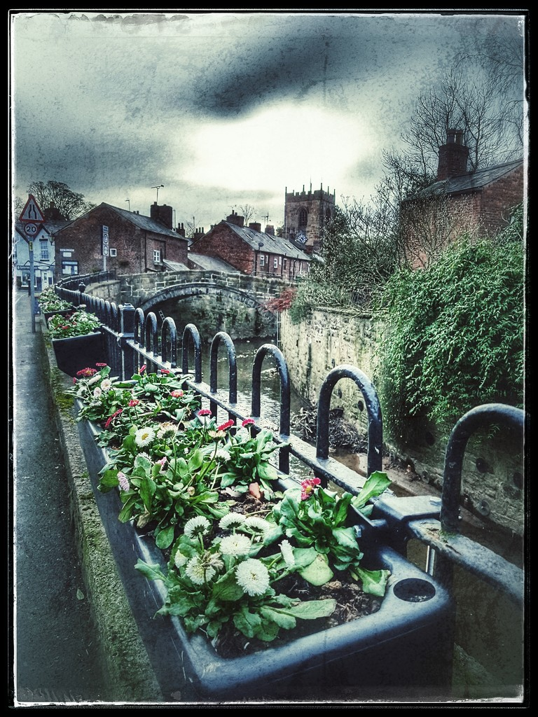 Croston village with a bit of grunge!  by lyndamcg