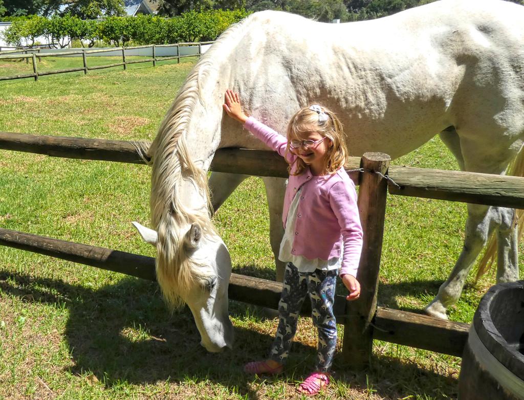 Emilia and Horses! by ludwigsdiana