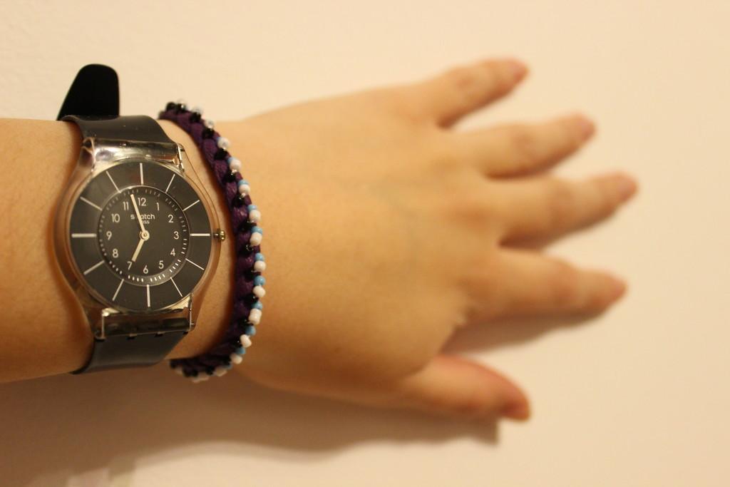 Friendship bracelet by violetlady