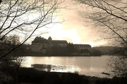 19th Jan 2019 - Paimpont Abbey & Lake in sulky light