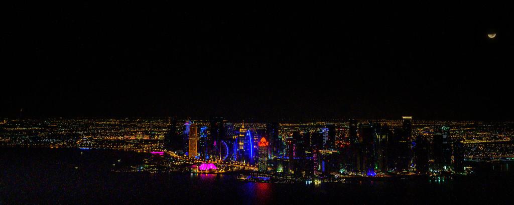Overnight in Doha, Qatar by taffy