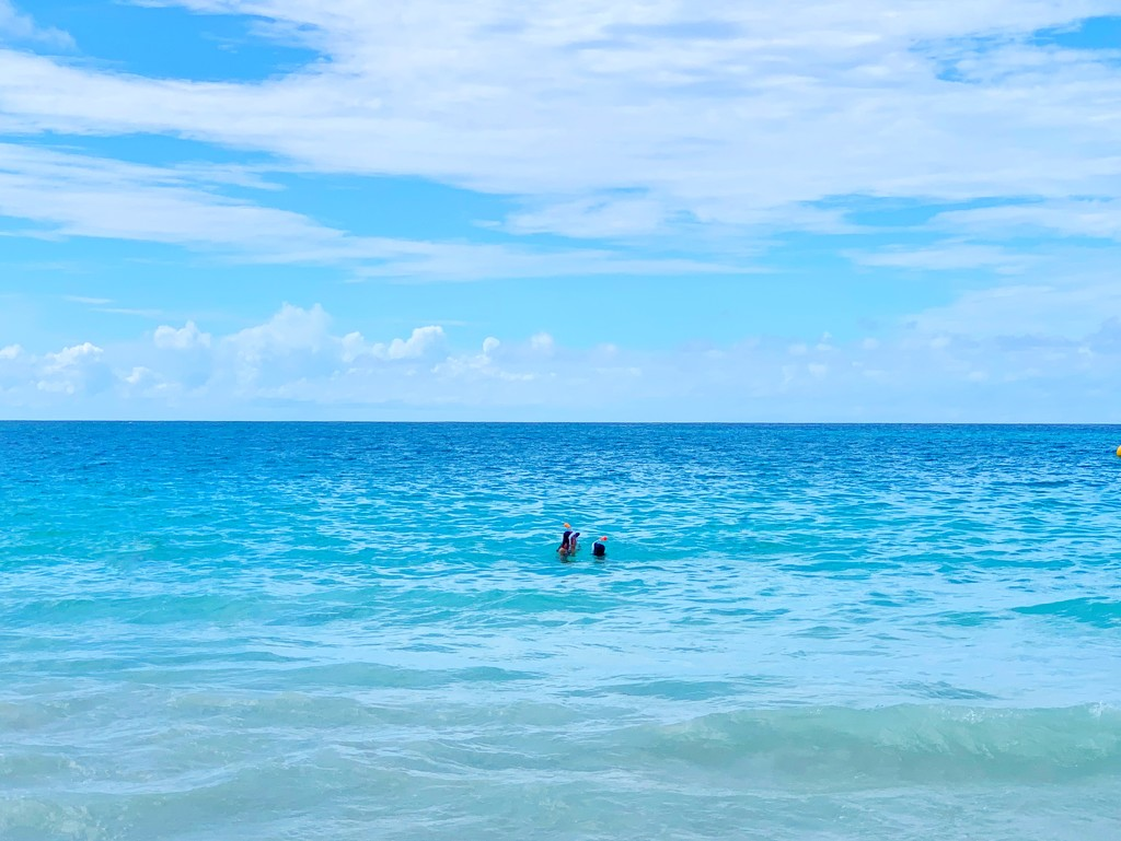 Two in the ocean.  by cocobella