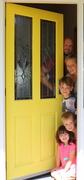 19th Jan 2019 - Who's behind the yellow door?