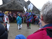 19th Jan 2019 - went wassailing today
