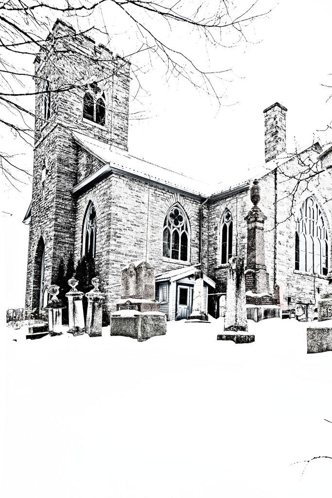 Church on a Hill by farmreporter