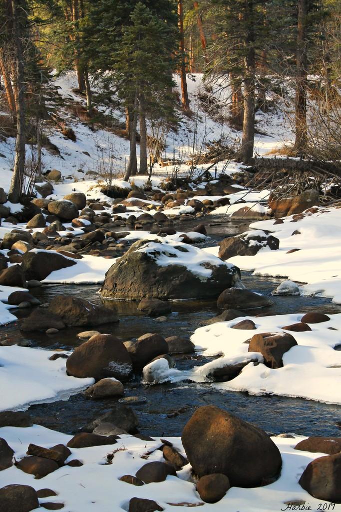 Frozen Creek by harbie