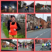 20th Jan 2019 - She did it - 50 miles! Ran from 5am for 12 hours 😊