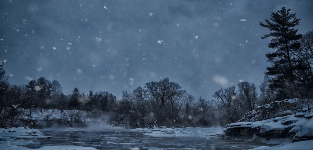 Wintery scene by adi314